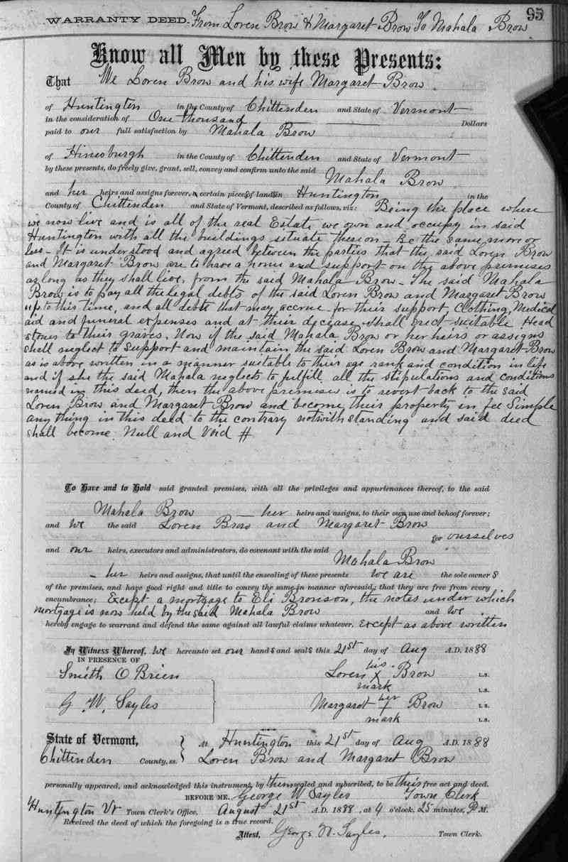Laurent (Loren) Joseph BROWE (BREAULT) (BRAULT) - Aug 21, 1888