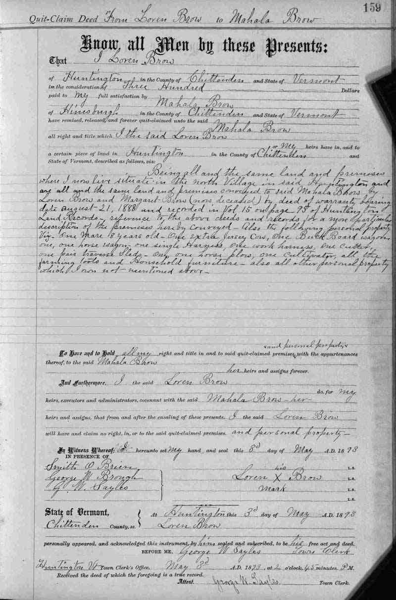 Laurent (Loren) Joseph BROWE (BREAULT) (BRAULT) - May 3, 1893