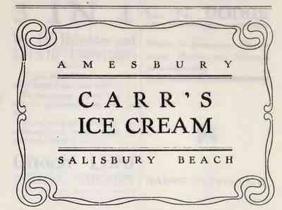 Salisbury, Massachusetts, USA - 1909 advertisement
