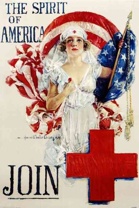, United States (USA) (American Colonies) - 1918 Red Cross ad