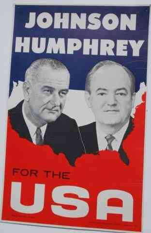 Lyndon Baines Johnson - 1964 campaign poster