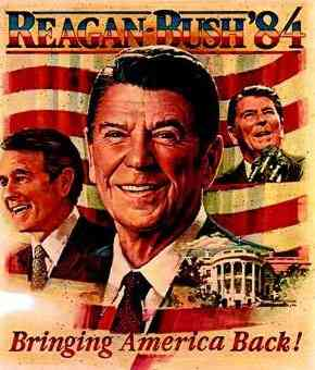 Ronald Wilson Reagan - 1984 campaign poster