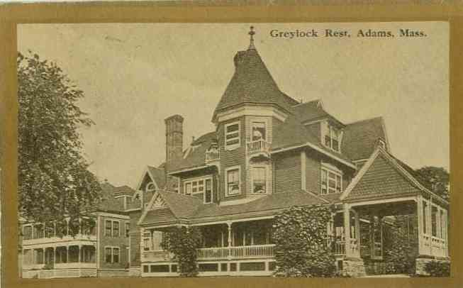 Adams, Massachusetts, USA - Greylock Rest. Adams, Mass.