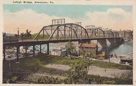 Allentown, Pennsylvania, USA - Lehigh Bridge
