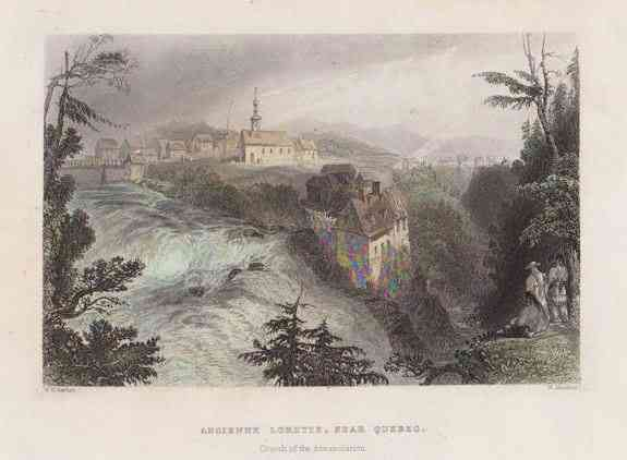 Ancienne Lorette, Québec, Canada (Notre-Dame-de-l'Annonciation) - Canadian Scenery, 