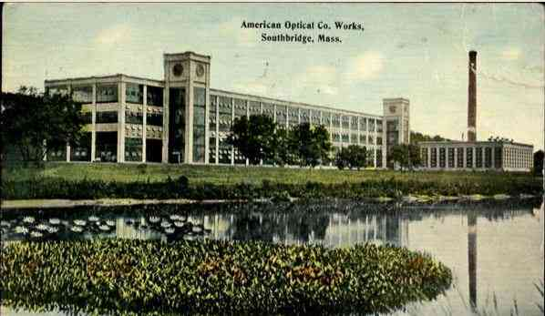 Southbridge, Massachusetts, USA - American Optical Co. Works, Southbridge, Mass. - 1909