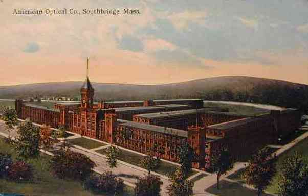 Southbridge, Massachusetts, USA - American Optical Co. - 1910