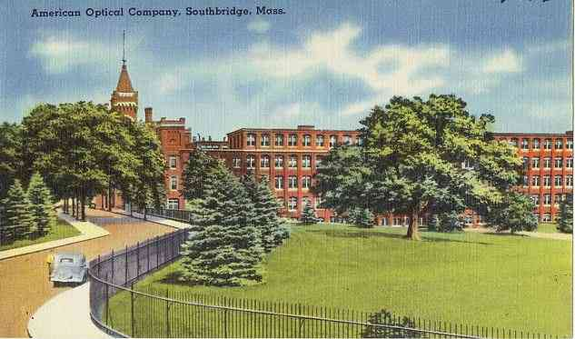 Southbridge, Massachusetts, USA - American Optical Company, Southbridge, Mass.