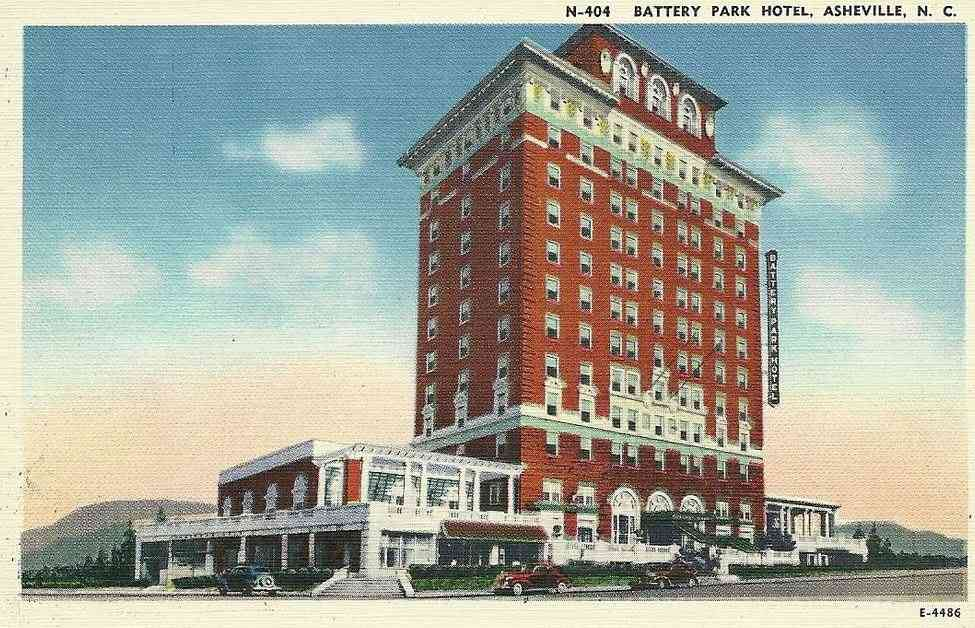 Asheville, North Carolina, USA - Battery Park Hotel, Asheville, N.C.