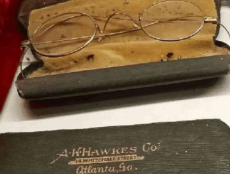 Atlanta, Georgia, USA - A. K. Hawkes Company glasses