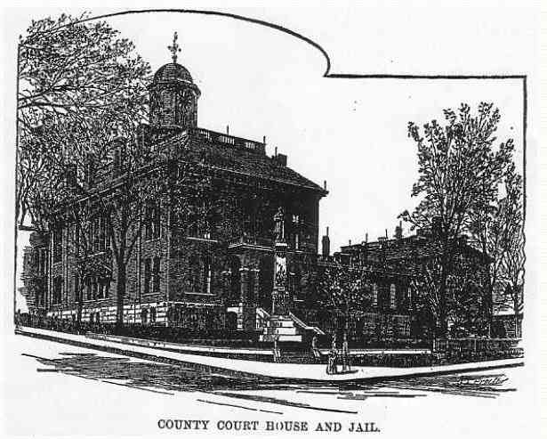 Auburn, Maine, USA - County Court House and Jail