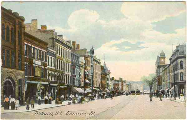 Auburn, New York, USA - Auburn NY - late 1800s