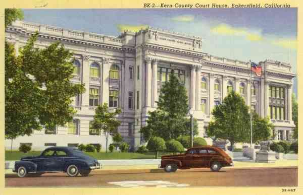 Bakersfield, California, USA - Kern County Court House