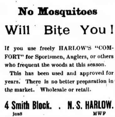Bangor, Maine, USA - 1892 advertisement