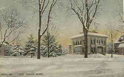 Bath, Maine, USA   Old Ladies Home