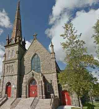 Bathurst, New Brunswick, Canada - Cathédrale Sacré-Cœur, est. 1881