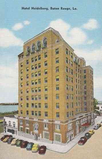 Baton Rouge, Louisiana, USA - Hotel Heidelberg