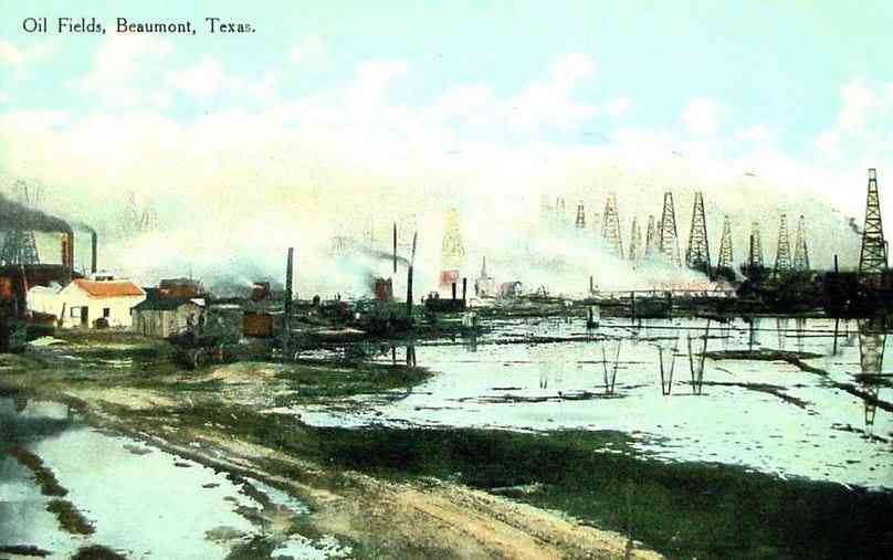 Beaumont, Texas, USA - Oil Fields, Beaumont, Texas