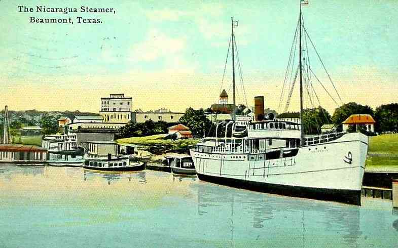 Beaumont, Texas, USA - The Nicaragua Steamer, Beaumont, Texas.