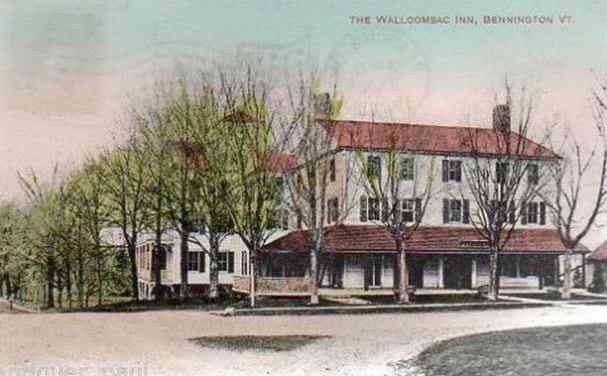 Bennington, Vermont, USA - The Walloomsac Inn, Bennington, Vt.