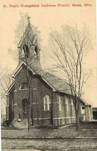 Berea, Ohio, USA - St. Paul's Evangelical Lutheran Church, Berea, Ohio