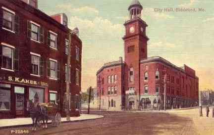 Biddeford, Maine, USA (Biddeford Pool) - City Hall