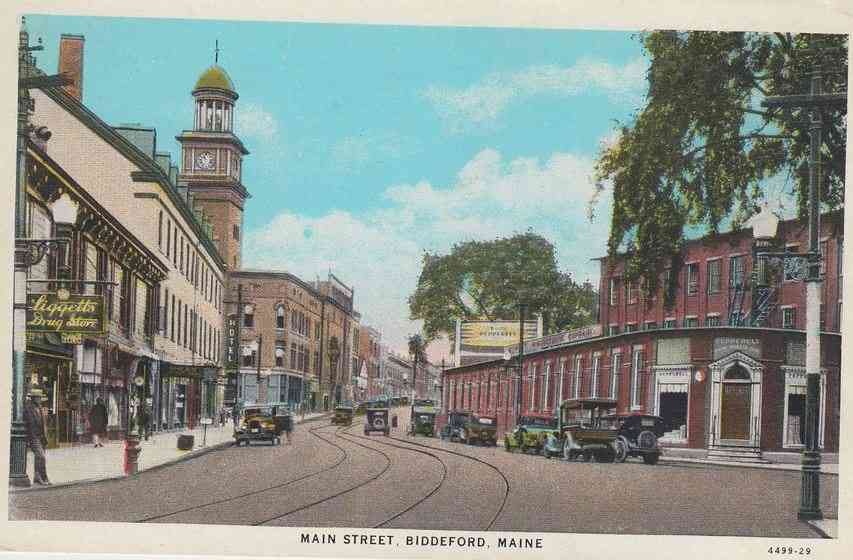 Biddeford, Maine, USA (Biddeford Pool) - Main Street
