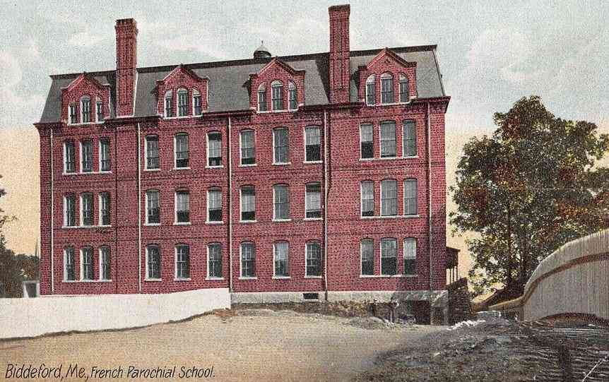 Biddeford, Maine, USA (Biddeford Pool) - Biddeford, Me., French Parochial School