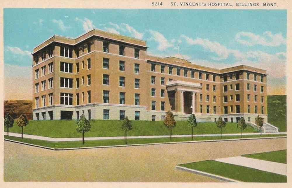 Billings, Montana, USA - St. Vincent's Hospital, Billings, Mont.