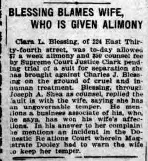 Charles Joseph Blessing - THE DAILY STANDARD UNION: BROOKLYN, THURSDAY, DECEMBER 24, 1914
