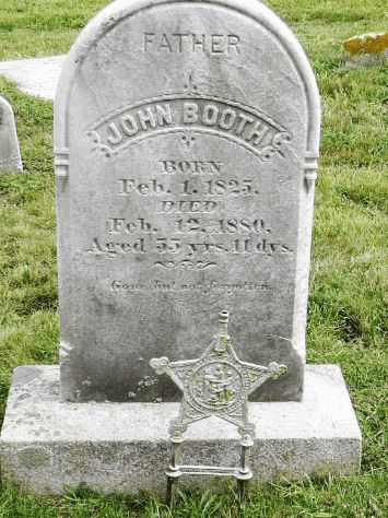John BOOTH - Grave