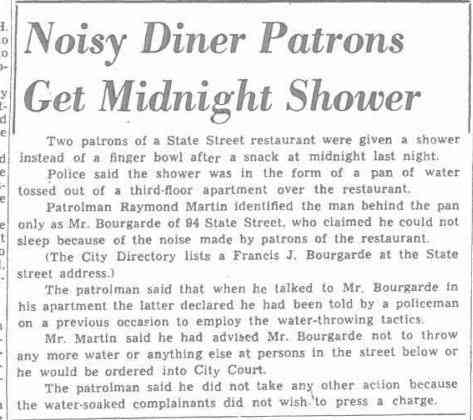 Francis Joseph Bourgarde - Binghamton Press Binghamton, New York Sat. July 16, 1949