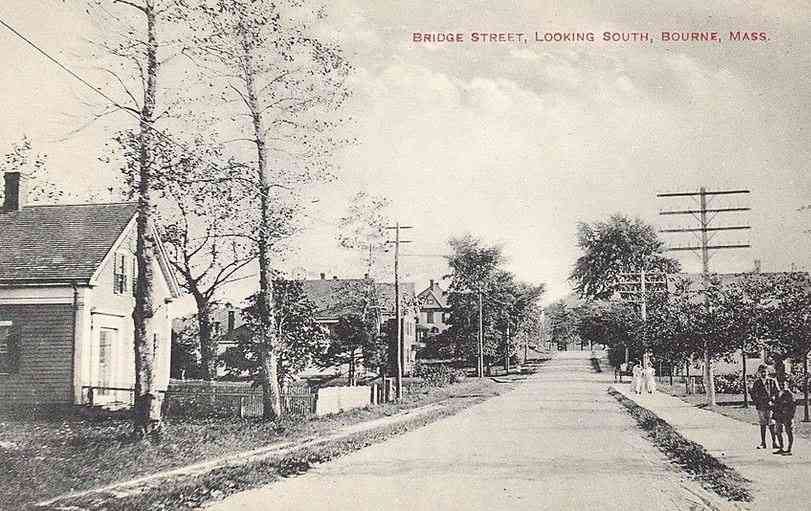 Bourne, Massachusetts, USA  - Bridge Street, Looking South