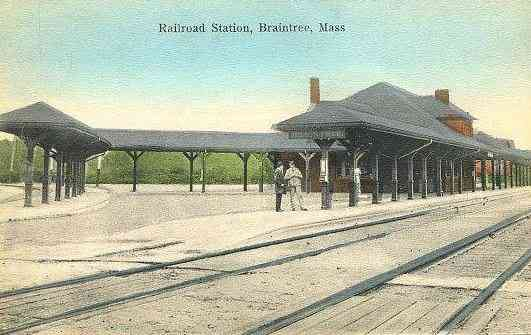 Braintree, Massachusetts, USA - Railroad Station