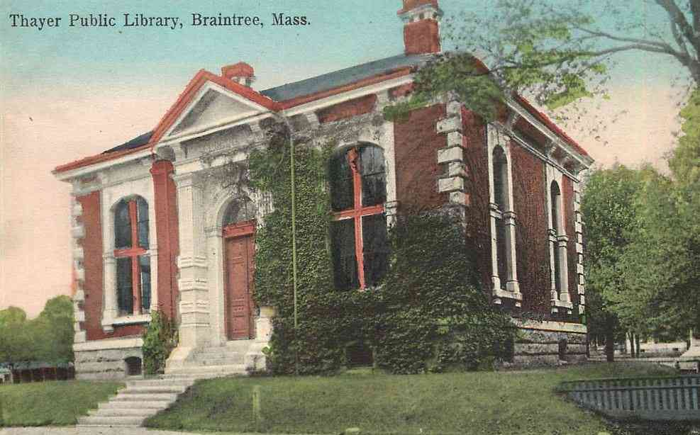 Braintree, Massachusetts, USA - Thayer Public Library