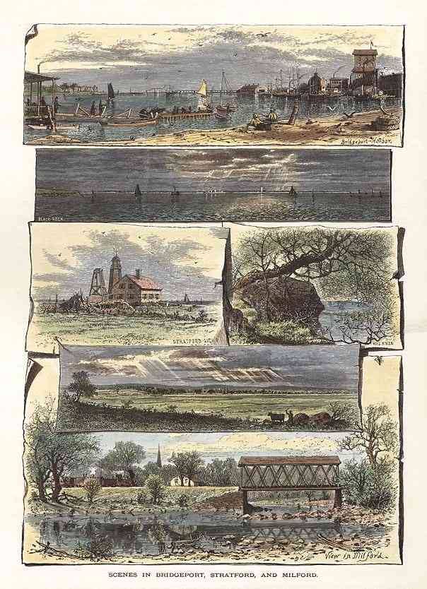Stratford, Connecticut, USA - Scenes in Bridgeport, Stratford and Milford.