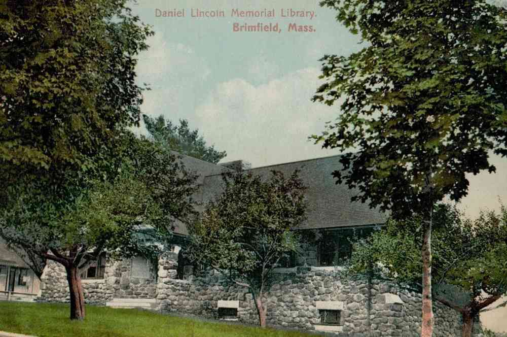 Brimfield, Massachusetts, USA - Daniel Lincoln Memorial Library