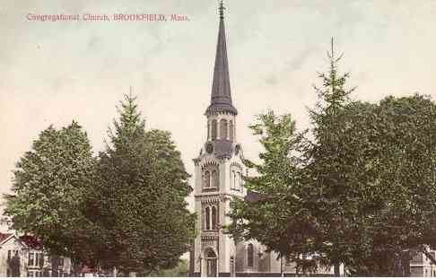 Brookfield, Massachusetts, USA - Congregational Church