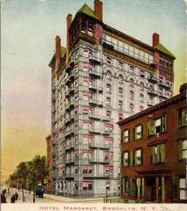 Brooklyn, New York, USA (Flatlands) (Flatbush) - Hotel Margaret, Brooklyn, New York