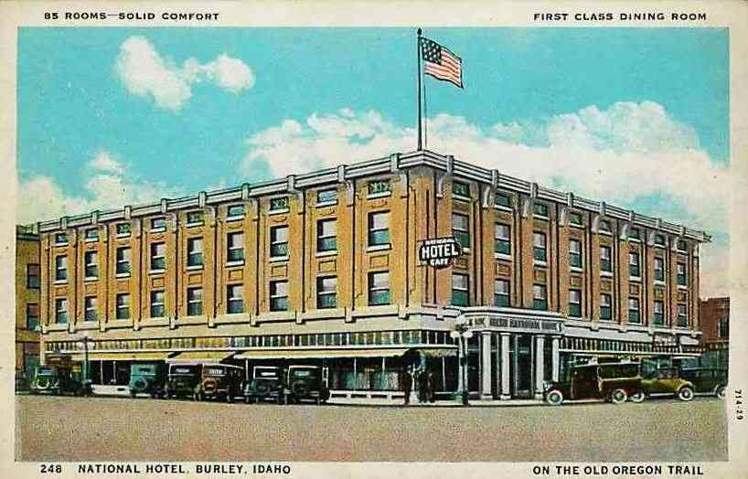 Burley Idaho Usa National Hotel