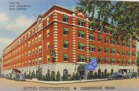 Cambridge, Massachusetts, USA - Hotel Continental