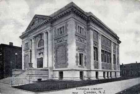 Camden, New Jersey, USA - Carnegie Library