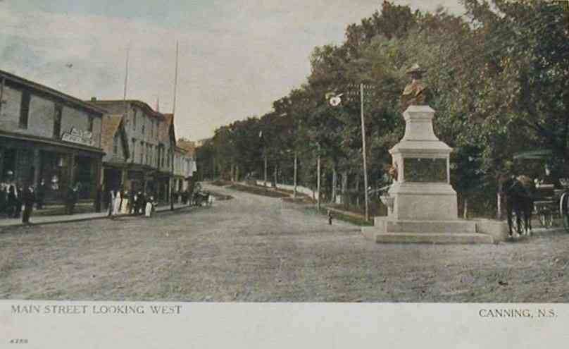 Canning, Nova Scotia, Canada  - Main Street Looking West