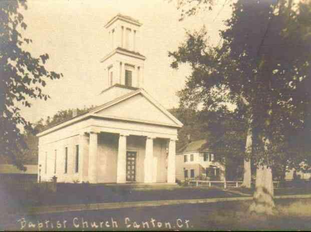 Canton, Hartford, Connecticut, USA - Baptist Church, Canton, Ct.
