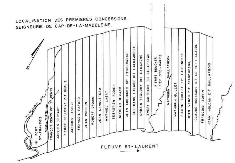 Cap-de-la-Madeleine, Québec, Canada (Sainte-Marie-Madeleine) - 1649 Cap-de-la-Madeleine, Quebec