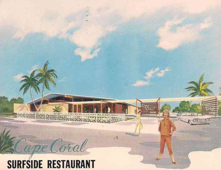 Cape Coral, Florida, USA - Surfside Restaurant, Cape Coral