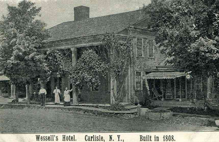 Carlisle, New York, USA  - Wessell's Hotel