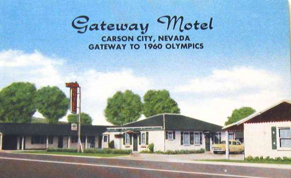 Carson City, Nevada, USA - Gateway Motel, Carson City, Nevada