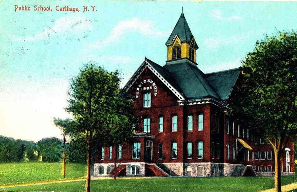 Wilna, New York, USA (Carthage) - Public School
