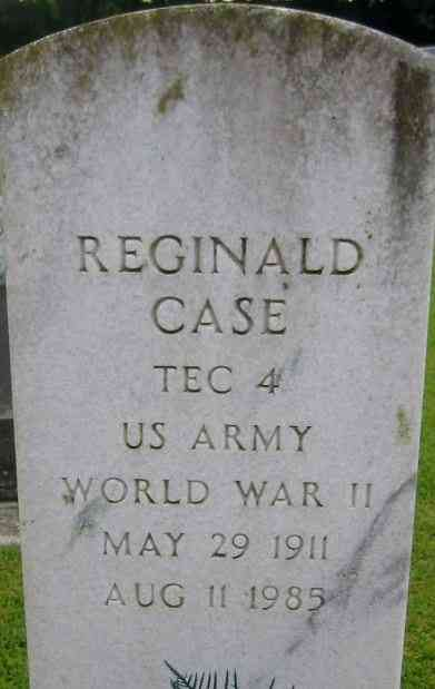 Reginald CASE - Grave